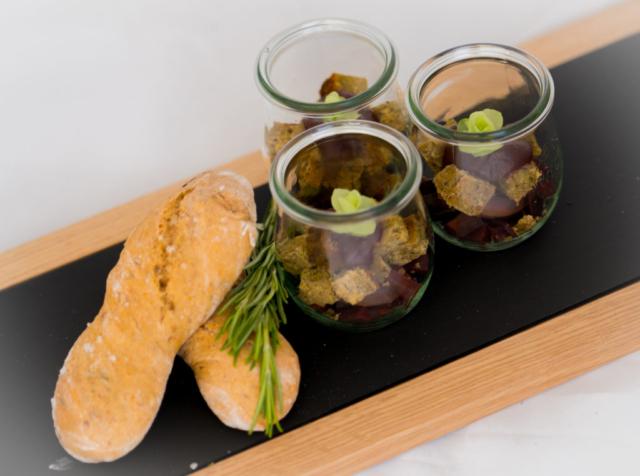 Maronenbraten mit Gemüse